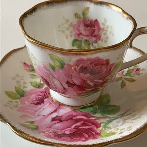 Royal Albert American Beauty Teacup & Saucer